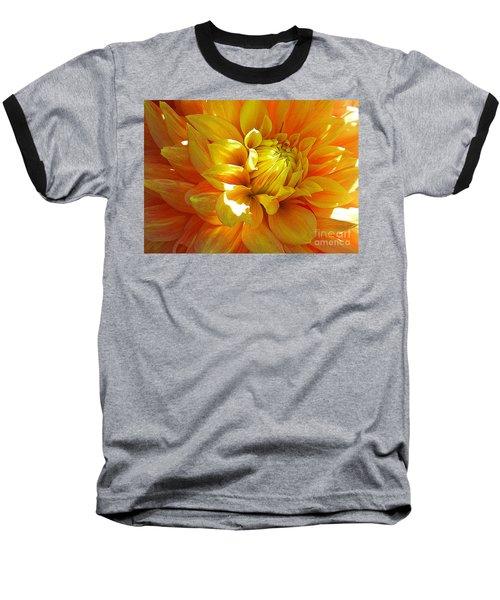 The Heart Of A Dahlia Baseball T-Shirt