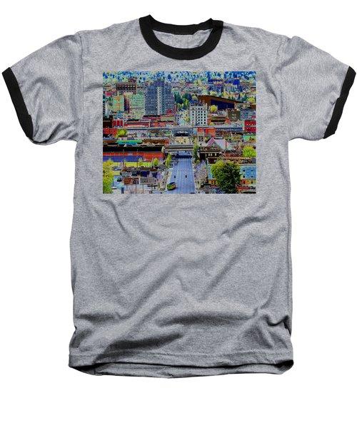The Heart Of Downtown Spokane  Baseball T-Shirt