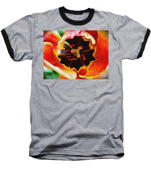 The Heart Of The Matter 2 Baseball T-Shirt by Sarah Loft