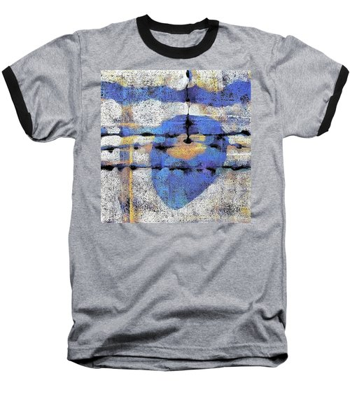 The Heart Of The Matter Baseball T-Shirt by Maria Huntley