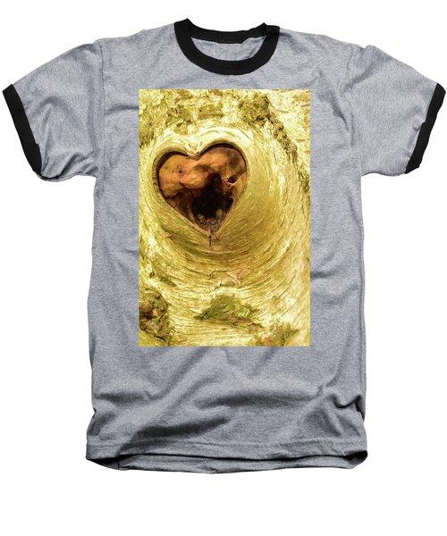 The Heart Of The Tree Baseball T-Shirt