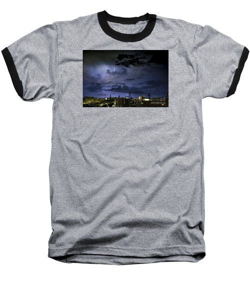 The Heavens Attack Baseball T-Shirt