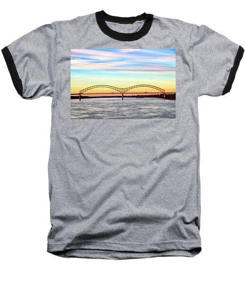 The Hernando De Soto Bridge Baseball T-Shirt