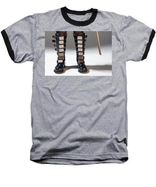 The Heroine Stands Baseball T-Shirt