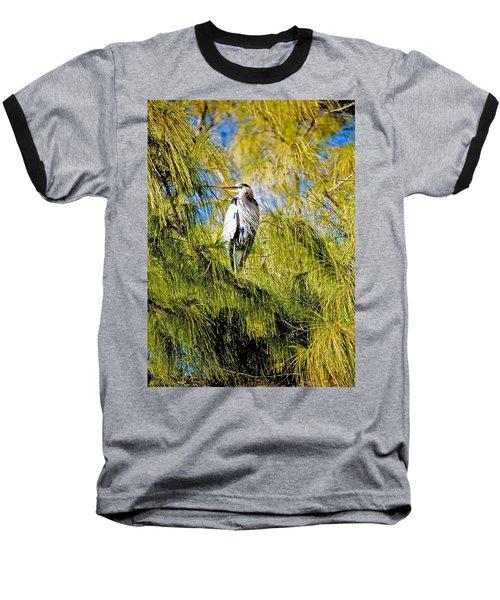 The Heron's Whiskers Baseball T-Shirt