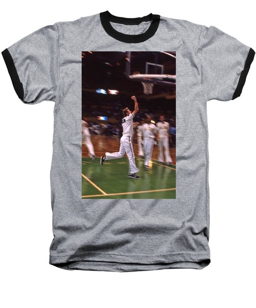 The Hick From French Lick Baseball T-Shirt by Mike Martin