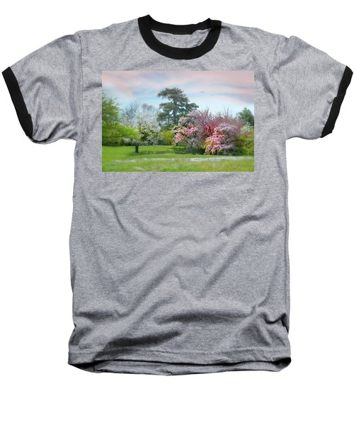 Baseball T-Shirt featuring the photograph The Hidden Garden by Diana Angstadt