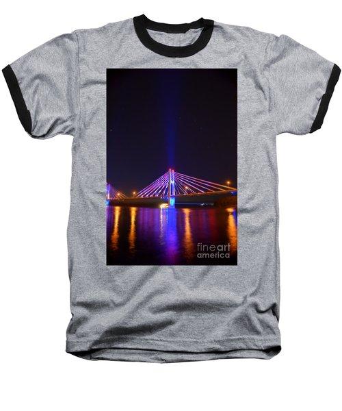 The Hidden Light Baseball T-Shirt by Justin Moore