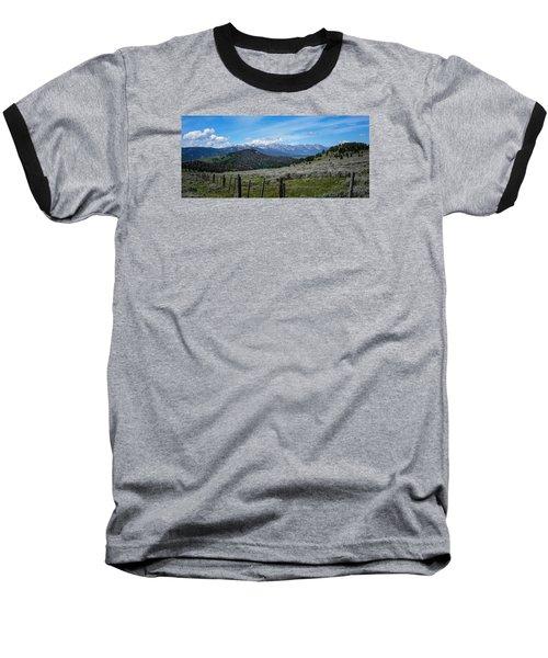 The High Divide  Baseball T-Shirt