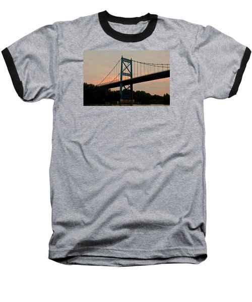 The High Level Aka Anthony Wayne Bridge I Baseball T-Shirt