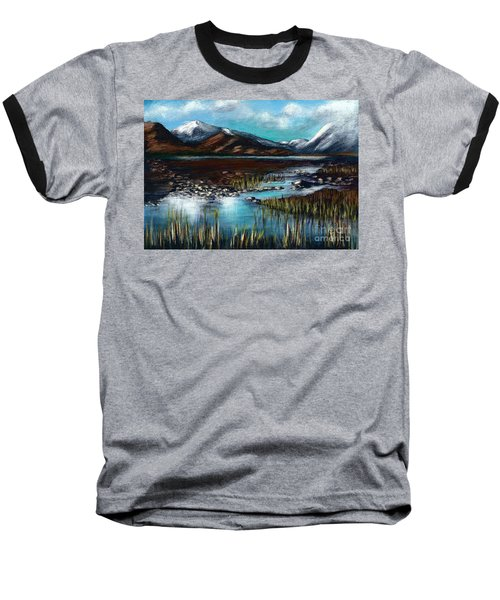 The Highlands - Scotland Baseball T-Shirt