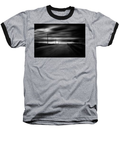 The Highway Baseball T-Shirt by Dan Jurak