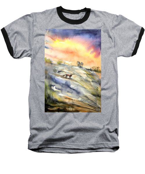 The Hill Of The Foxes Baseball T-Shirt