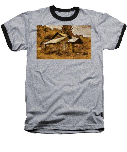 The Hillbilly Cabin Baseball T-Shirt