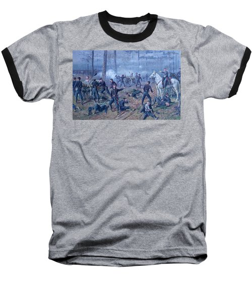 Baseball T-Shirt featuring the painting The Hornets' Nest by Thomas Corwin Lindsay