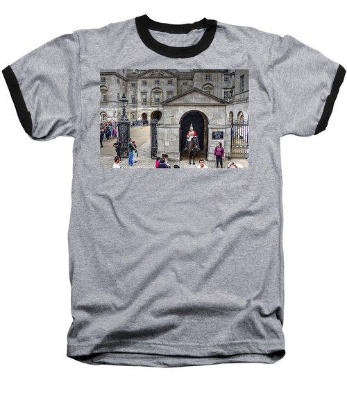 The Horse Guard At Whitehall Baseball T-Shirt
