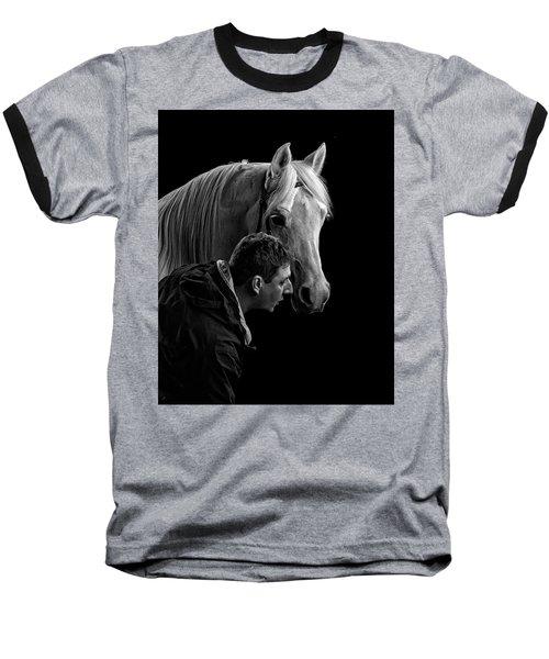 The Horse Whisperer Extraordinaire Baseball T-Shirt