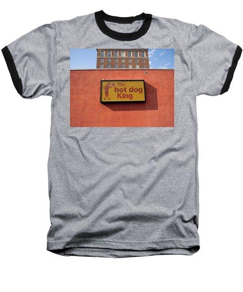 The Hot Dog King Baseball T-Shirt