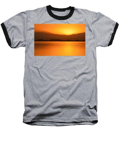 The Hour Is Golden Baseball T-Shirt