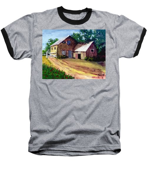 The House Barn Baseball T-Shirt
