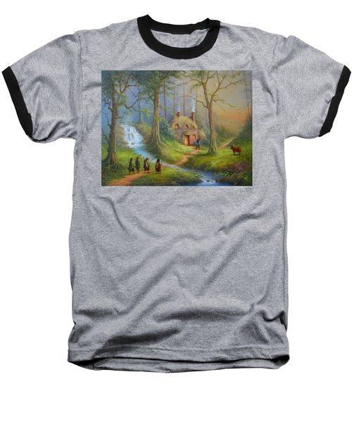 The House Of Tom Bombadil.  Baseball T-Shirt by Joe  Gilronan