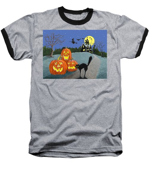 The House On Cemetery Hill Baseball T-Shirt