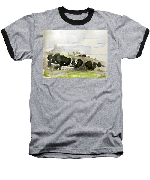 The House On The Hill Baseball T-Shirt