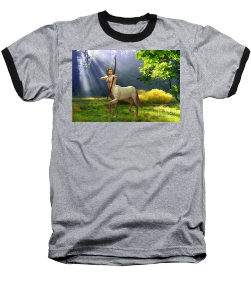 The Hunter Baseball T-Shirt by John Edwards
