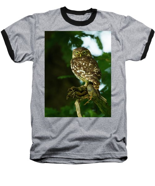 Baseball T-Shirt featuring the photograph The Hunter by Paul Scoullar