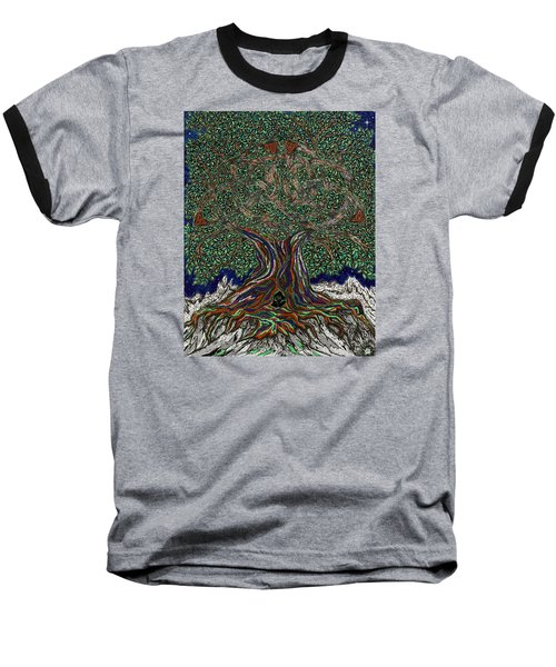 The Hunter's Lair Baseball T-Shirt by FT McKinstry