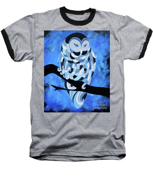 The Ice Owl Baseball T-Shirt
