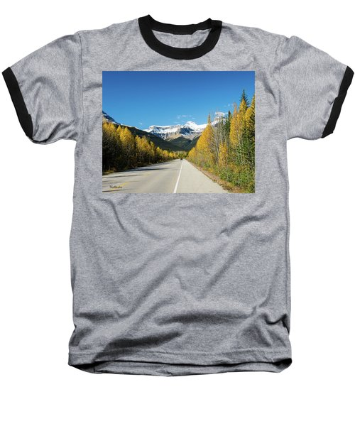 The Icefields Parkway Baseball T-Shirt