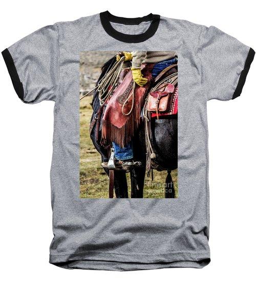The Idaho Cowboy Western Art By Kaylyn Franks Baseball T-Shirt
