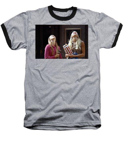 The Ids Neck Crane Baseball T-Shirt