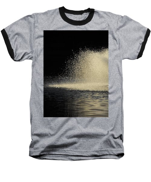 The Illusion Of Dark And Light With Water Baseball T-Shirt