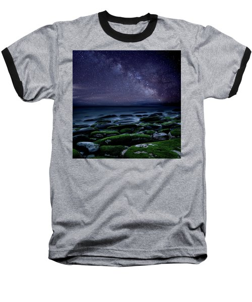 Baseball T-Shirt featuring the photograph The Immensity Of Time by Jorge Maia