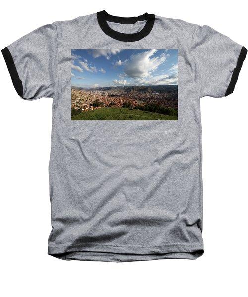 The Inca Capital Of Cusco Baseball T-Shirt by Aidan Moran