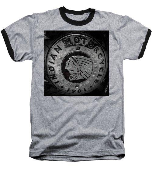 The Indian Motorcycle Logo Baseball T-Shirt