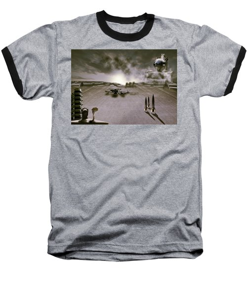 Baseball T-Shirt featuring the photograph The Industrial Revolution by Nathan Wright