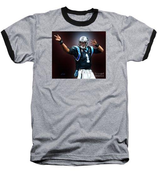 The Inevitable Cam Newton1 Baseball T-Shirt