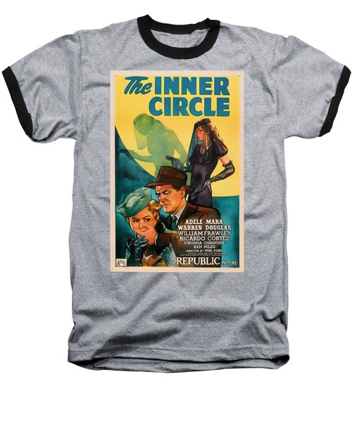 The Inner Circle 1946 Baseball T-Shirt by Mountain Dreams