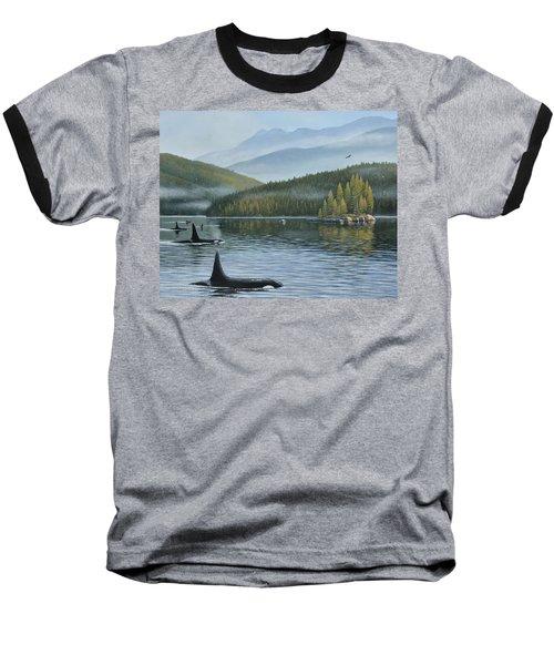 The Inside Passage Baseball T-Shirt