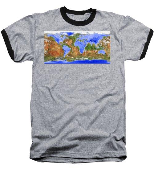 The Inverted World Baseball T-Shirt