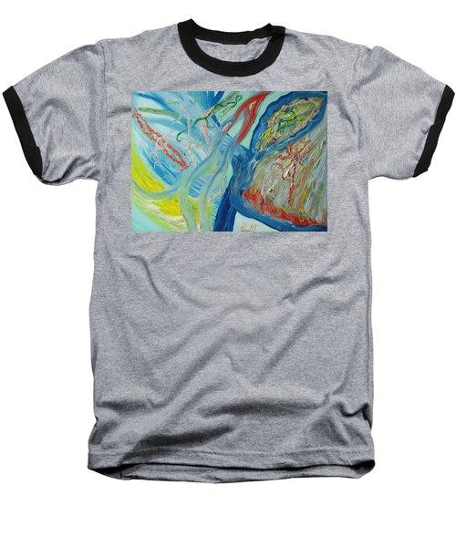 The Invisible World Baseball T-Shirt