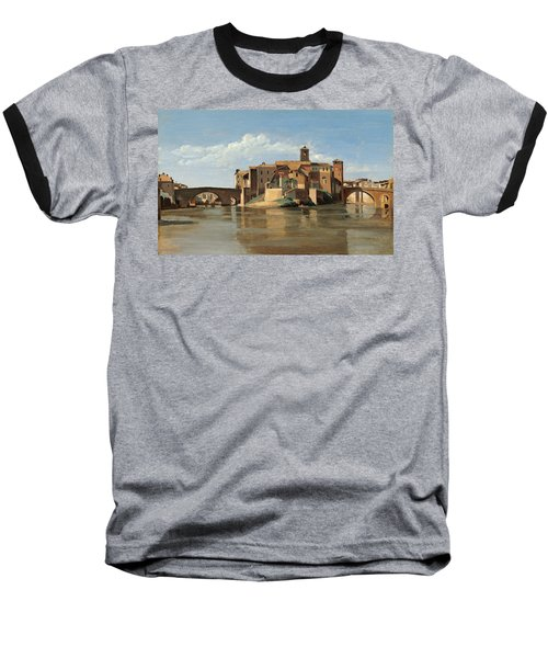 The Island And Bridge Of San Bartolomeo Baseball T-Shirt