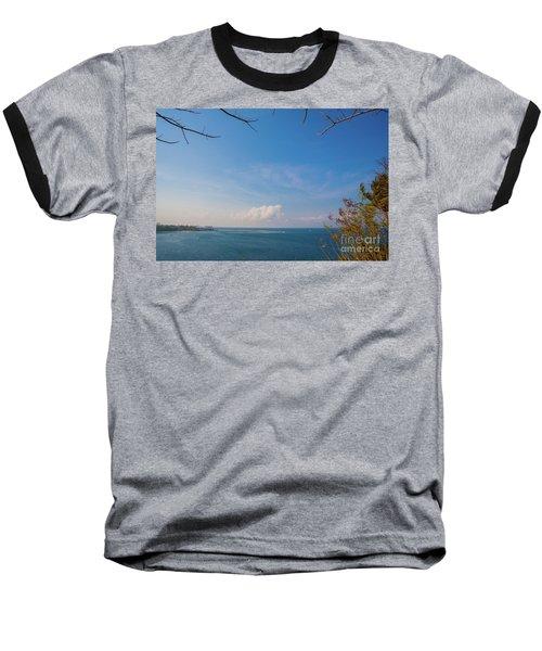 The Island Of God #5 Baseball T-Shirt