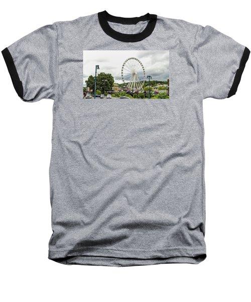 The Island Smoky Mountain Wheel Baseball T-Shirt