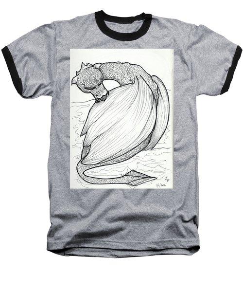 The Itch Baseball T-Shirt by Loretta Nash