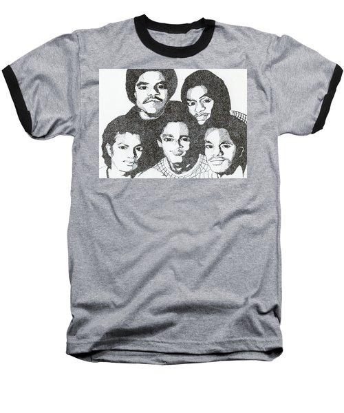 The Jacksons Tribute Baseball T-Shirt