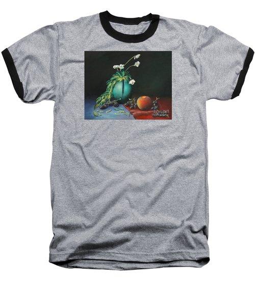 The Jade Vase And Jasmine Baseball T-Shirt